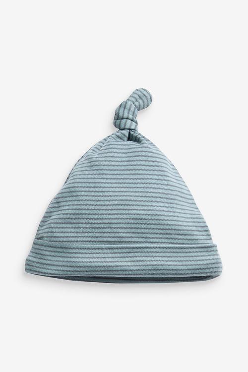 Next 3 Pack Stripe Tie Top Hats (0-18mths)