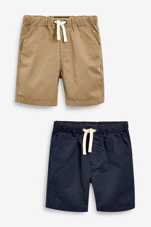 Next 2 Pack Pull-On Shorts (3-16yrs) - 263920