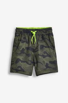 Next Camo Swim Shorts (3-16yrs) - 263930