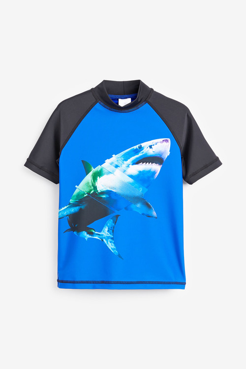 Next Shark Rash Vest (3-16yrs)