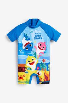 Next Baby Shark Sunsafe Swimsuit (3mths-7yrs) - 263938
