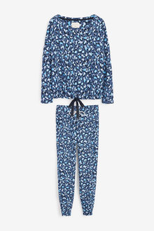 Next Cotton Blend Pyjamas - 264046