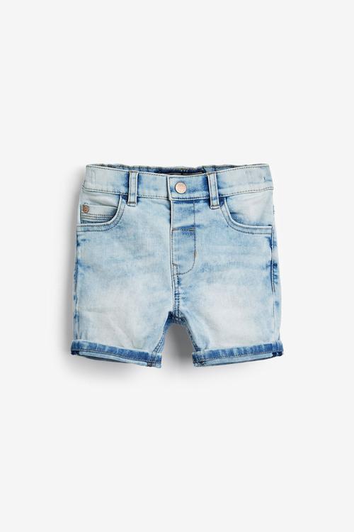 Next Light Blue Denim Shorts (3mths-7yrs)