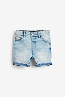 Next Light Blue Denim Shorts (3mths-7yrs) - 264130