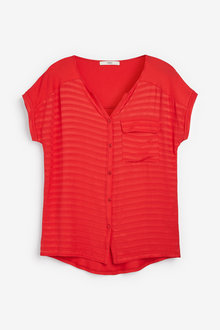 Next Red Utility Top - 264156