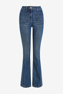 Next Pocket Front Flare Jeans - 264165