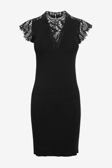 Next Lace Detail Dress - 264220