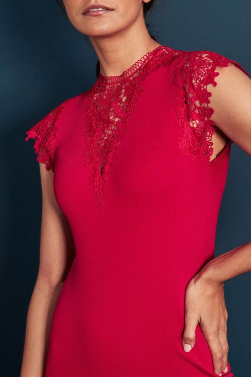 Next Lace Detail Dress