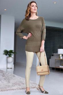 Heine Button Sleeve Pullover - 264274