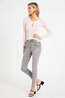 Heine Zip Detail Jeans - 264290