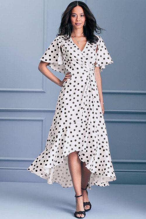 Kaleidoscope Polka Dot Dress