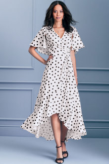 Kaleidoscope Polka Dot Dress - 264553