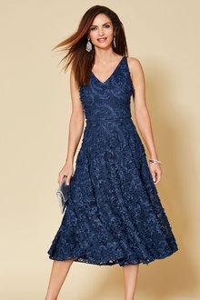 Kaleidoscope Lace Dress - 264555