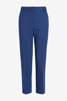 Next Blue Tailored Slim Trousers - 264635