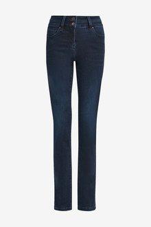 Next Inky Wash Lift, Slim And Shape Slim Jeans - 264856