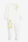 Next 3 Pack Floral Sleepsuits (0-2yrs)