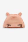 Next 2 Pack Cat Beanie Hats (0-18mths)