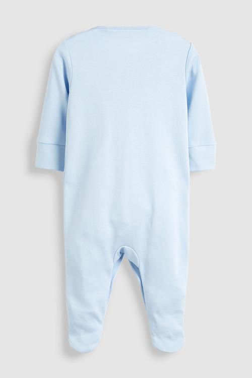 Next 3 Pack GOTS Certified Organic Cotton Sleepsuits (0mths-2yrs)