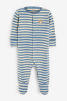 Next 3 Pack Bear Sleepsuits (0mths-2yrs)