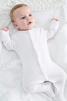 Next 5 Pack Essentials Sleepsuits (0-9mths) - 264929