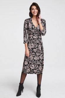 Heine Wrap Dress - 264999