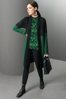 Heine Colour Block Cardigan - 265002