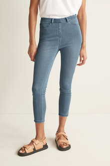 Next Jersey Cropped Leggings - Tall - 265040