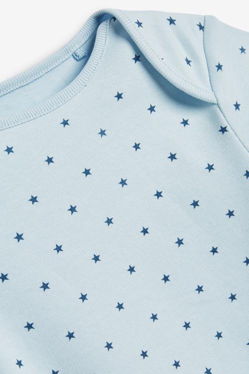 Next 7 Pack Star Stripe Short Sleeve Bodysuits (0mths-3yrs)