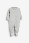 Next 3 Pack Supima Cotton Sleepsuits (0mths-2yrs)