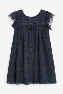 Next Sequin Spot Party Dress (3mths-7yrs) - 265136