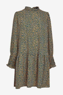 Next Ruffle Neck Dress - 265138