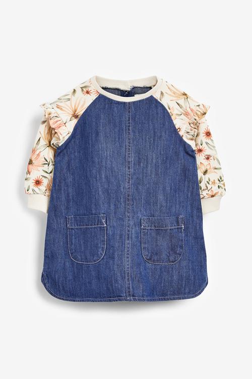 Next Floral Raglan Dress (3mths-7yrs)