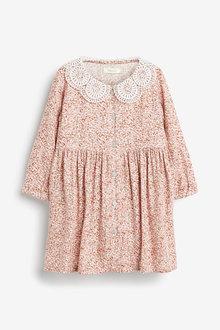 Next Lace Collar Dress (3mths-7yrs) - 265230