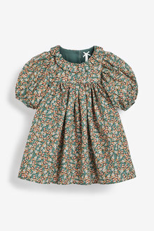 Next Floral Print Collar Dress (3mths-7yrs) - 265247