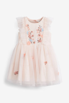 Next Mesh Party Dress (3mths-7yrs) - 265248