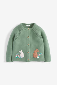 Next Bunny Cardigan (3mths-7yrs) - 265262