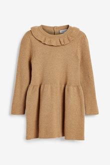 Next Frill Neck Jumper Dress (3mths-7yrs) - 265285