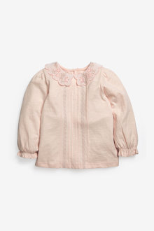 Next Embroidered Collar Top (3mths-7yrs) - 265333
