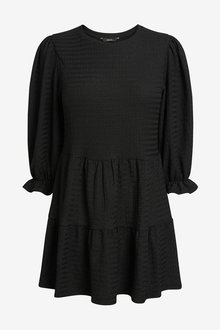 Next Textured Short Sleeve Tiered Tunic - 265348