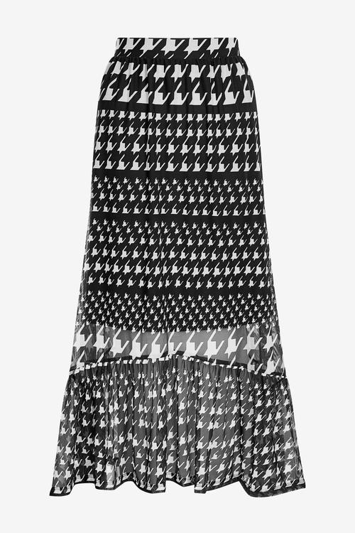 Next Mesh Midi Skirt