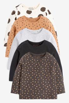 Next 5 Pack Basic T-Shirts (3mths-7yrs) - 265399