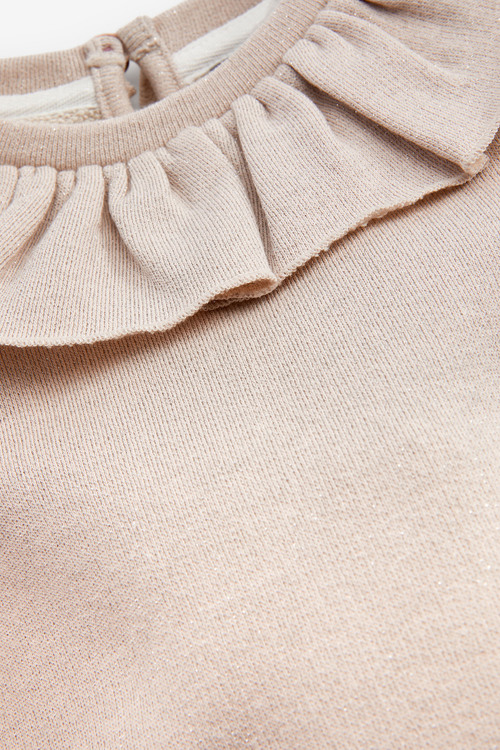 Next Sparkle Puff Sleeve Collar Top (3mths-7yrs)