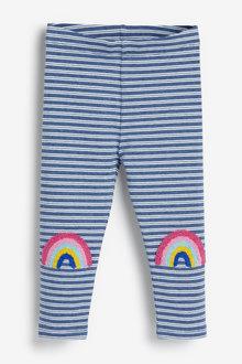 Next Rainbow Knee Leggings (3mths-7yrs) - 265534