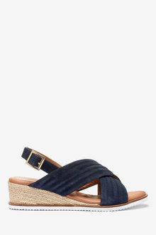 Next Forever Comfort Quilted Wedges-Wide - 265562