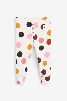 Next Printed Rib Leggings (3mths-7yrs) - 265568