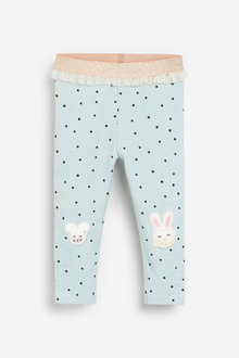 Next Bunny Embroidered Leggings (3mths-7yrs) - 265577