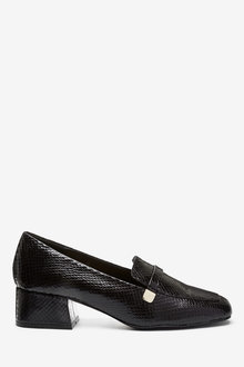 Next Low Block Hardware Loafers - 265624