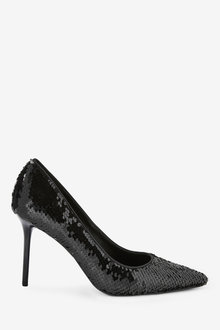 Next Reversible Sequin Court Shoes - 265628