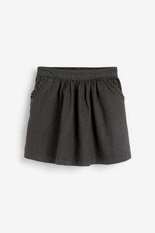 Next Denim Frill Pocket Skirt (3mths-10yrs) - 265637