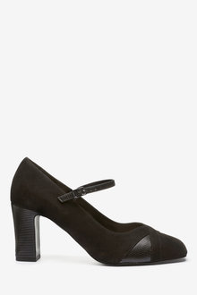 Next Mary Jane Court Shoes-Regular - 265644